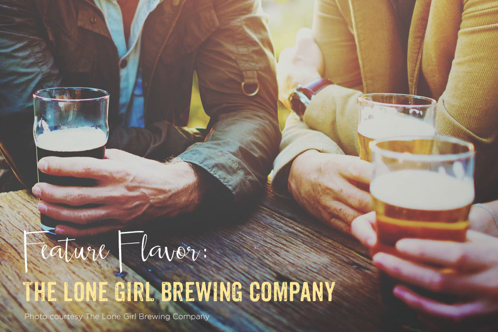 Feature Flavor Lone Girl Brewing Company
