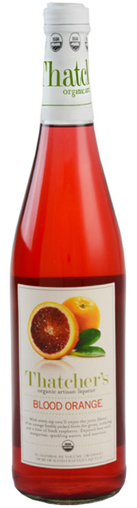 Thatcher's Organic Blood Orange Liqueur