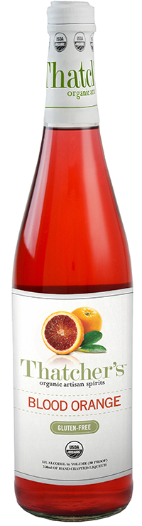 Thatcher's Gluten Free Organic Blood Orange Liquer