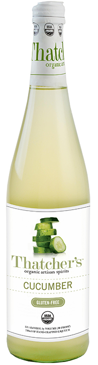 Thatcher's Gluten Free Organic Cucumber Liqueur