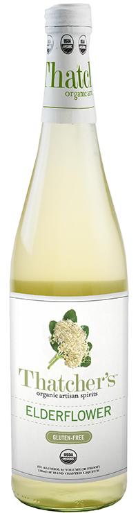 Thatcher's Gluten Free Organic Elderflower Liqueur