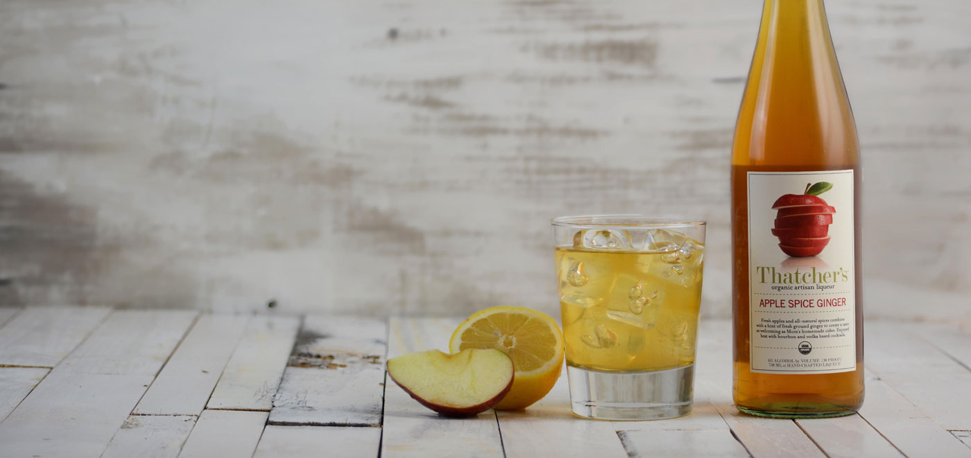 Thatcher's Organic Apple Spice Ginger Liqueur