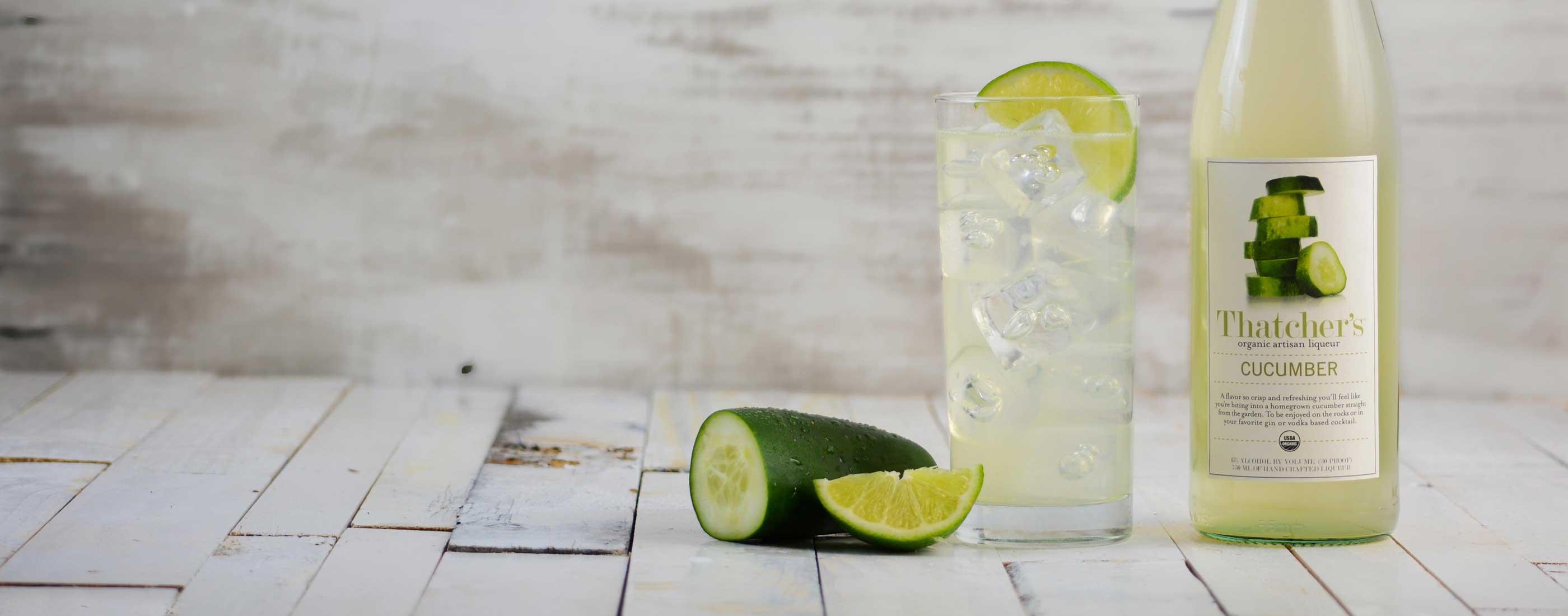 Thatcher's Organic Cucumber Liqueur