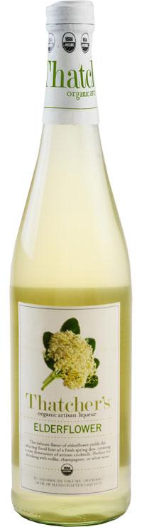 Thatcher's Organic Elderflower Liqueur