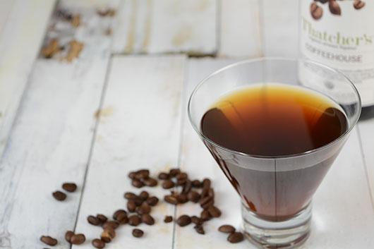 Thatcher's Organic Coffeehouse Martini