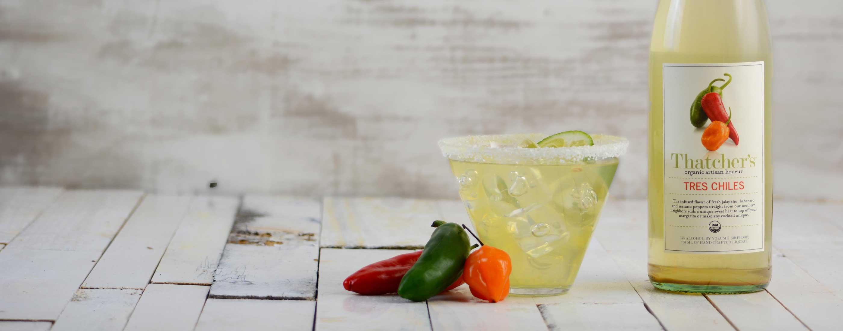Thatcher's Organic Tres Chiles Liqueur