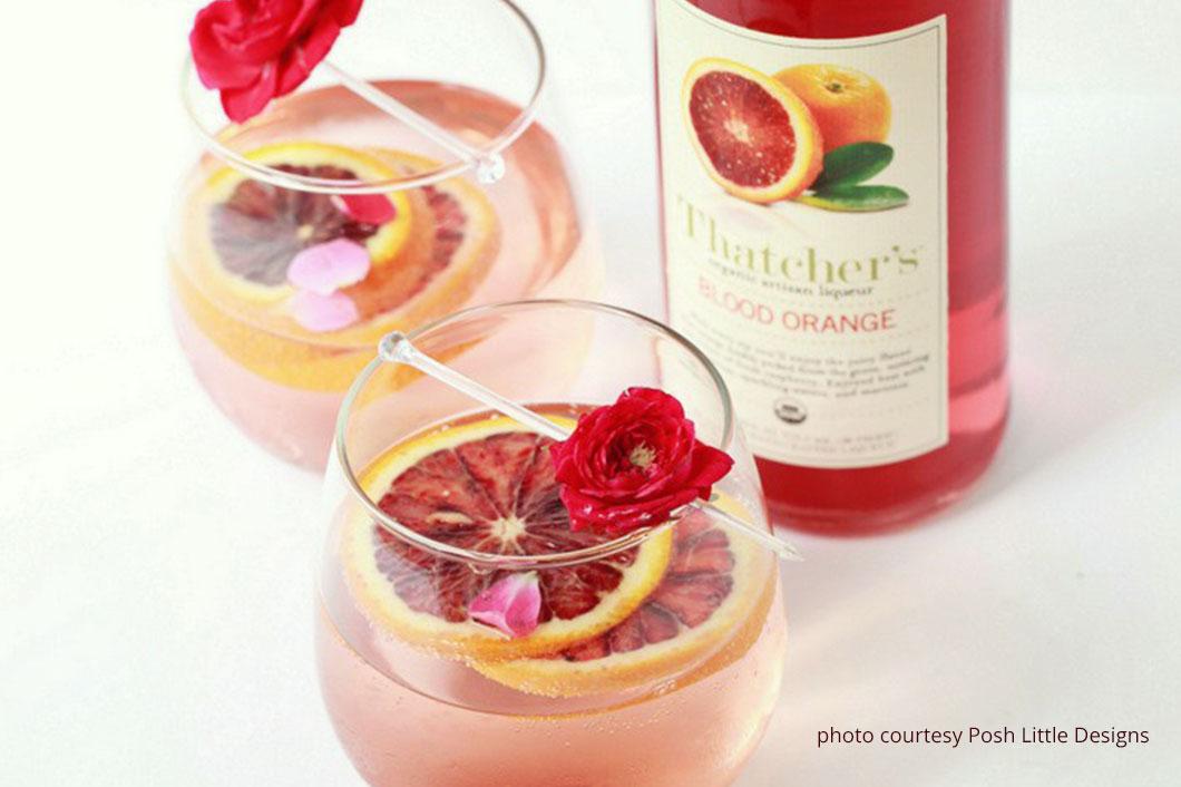 Blood Orange Rose Sangria Recipe