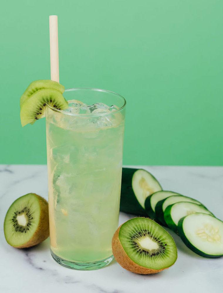 Kiwi Kumquat Cocktail